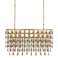 Currey & Company Lighting Shanti Chandelier 9000-0258 - Wrought Iron