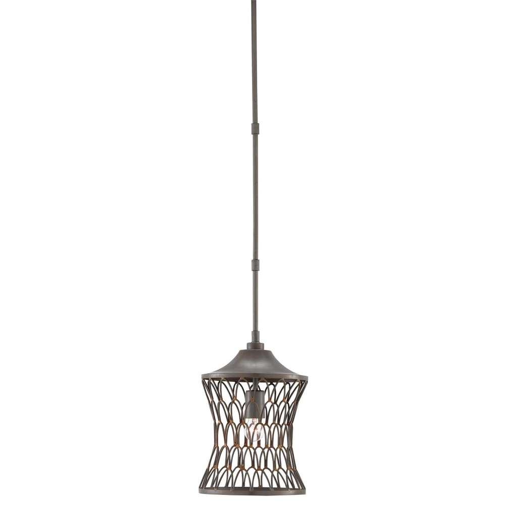 Currey Company Lighting Stairway Pendant 9000 0281 Wrought