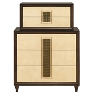 Currey & Company Home Channing Tiered Chest