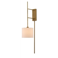 Currey & Company Lighting Savill Wall Sconce 5000-0076 - Metal