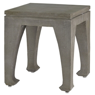 Currey & Company Home Ming Table 2000-0006 Concrete