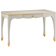 Currey & Company Home Tatum Desk 3000-0027 Solid & Engineered Hardwood
