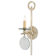 Currey & Company Lighting Sethos Wall Sconce 5000-0028 Wrought Iron