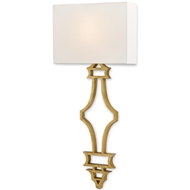 Currey & Company Lighting Eternity Wall Sconce 5000-0030 Wrought Iron