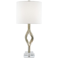 Currey & Company Lighting Elyx Table Lamp 6000-0071 Composite