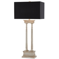 Currey & Company Lighting Indre Table Lamp 6000-0072 Rubber Wood