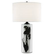 Currey & Company Lighting Heise Table Lamp 6000-0106 Porcelain