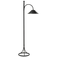 Currey & Company Lighting Vermay Floor Lamp 8000-0008 Wrought Iron