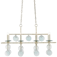 Currey & Company Lighting Sethos Rectangular Chandelier