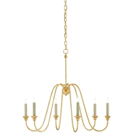 Currey & Company Lighting Orion Chandelier, Small