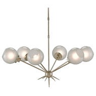 Currey & Company Lighting Shelly Chandelier 9000-0064 Wrought Iron