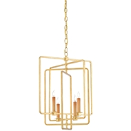 Currey & Company Lighting Metro Square Chandelier