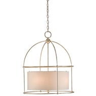 Currey & Company Lighting Benson Lantern 9000-0077 Wrought Iron