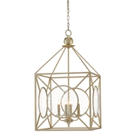 Currey & Company Lighting Beckmore Lantern 9000-0080 Wrought Iron