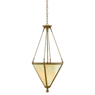 Currey & Company Lighting Epiphany Pendant 9000-0097 Wrought Iron