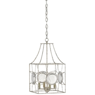 Currey & Company Lighting Celestia Lantern 9000-0100 Wrought Iron