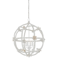 Currey & Company Lighting Seaforth Orb Chandelier, Small
