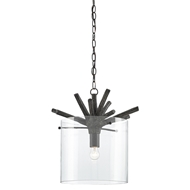 Currey & Company Lighting Arboria Pendant 9000-0132 Wrought Iron