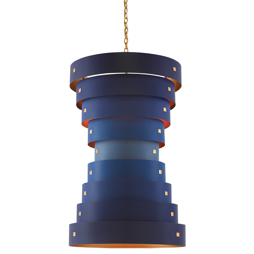 Currey & Company Graduation Chandelier | Bold and Bright: A Guide to Colorful Home Decor