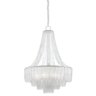Currey & Company Lighting Vintner Blanc Chandelier