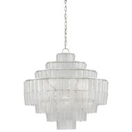 Currey & Company Lighting Sommelier Blanc Chandelier
