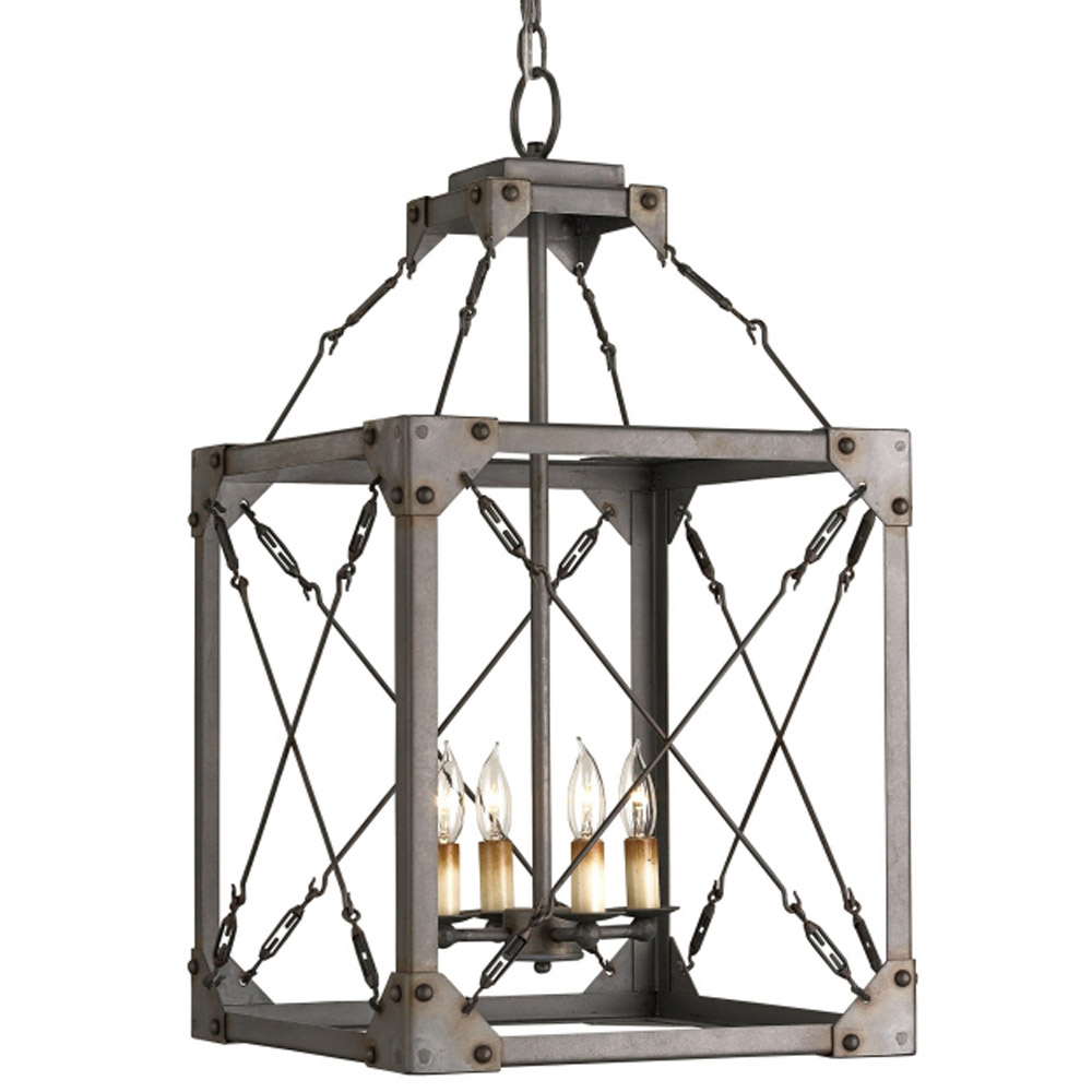 ... Currey u0026 Company Lighting Salvage Lantern ...  sc 1 st  Peace Love u0026 Decorating : salvage lighting - www.canuckmediamonitor.org