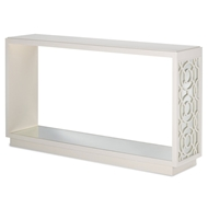 Currey & Company Home Alisa Console Table 3000-0041 Engineered Hardwood/Mirror Glass