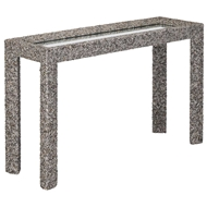 Currey & Company Home Batad Shell Console Table