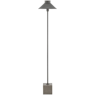Currey & Company Lighting Suzu Floor Lamp 8000-0017 Wrought Iron/Concrete