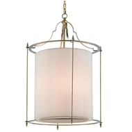 Currey & Company Lighting Miller Lantern Bronze 9000-0166 Brass