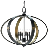 Currey & Company Lighting Huntsman Chandelier
