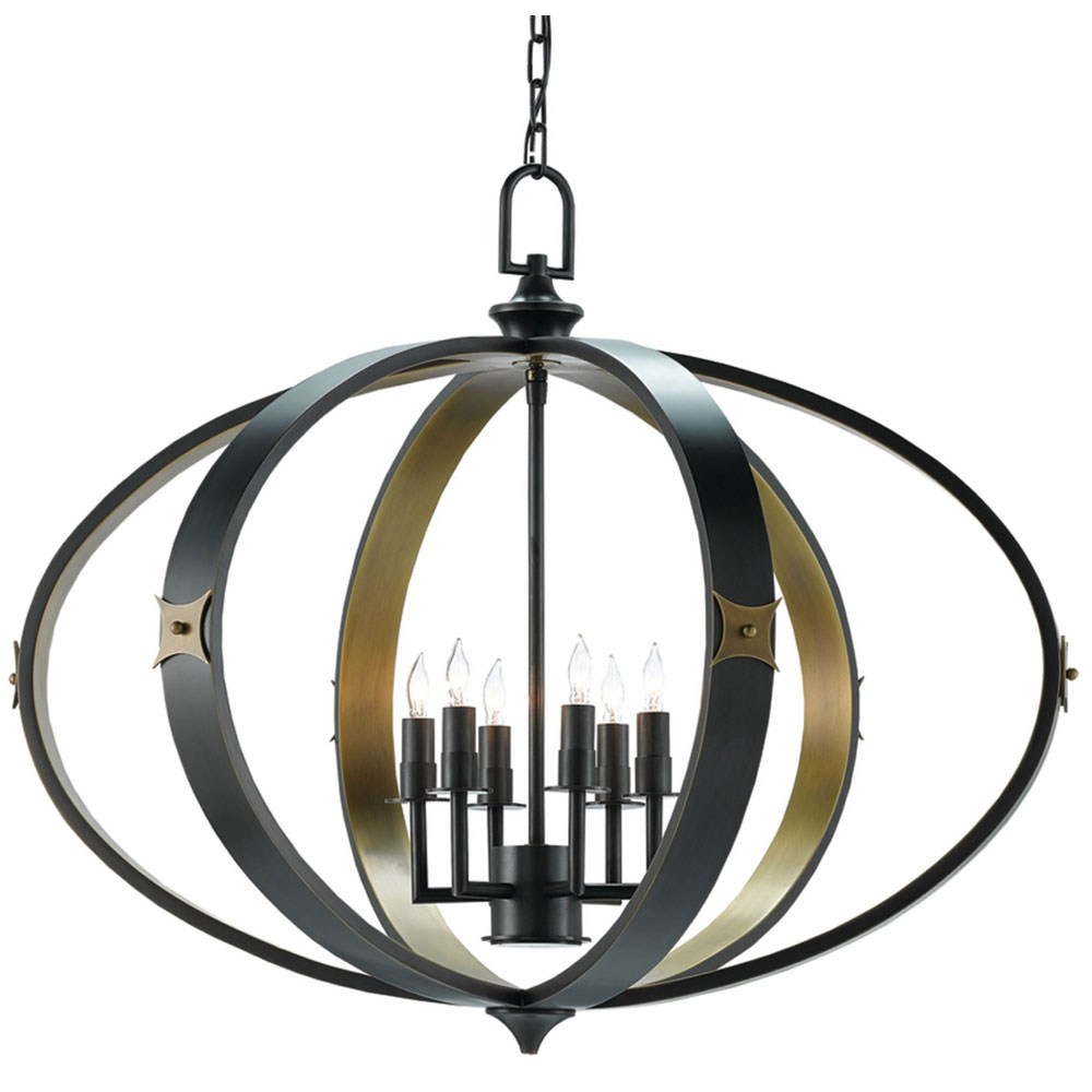 Currey & Company Lighting Huntsman Chandelier 9000-0169