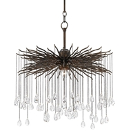 Currey & Company Lighting Fen Chandelier Small