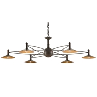 Currey & Company Lighting Drone Chandelier