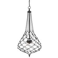Currey & Company Lighting Snood Chandelier