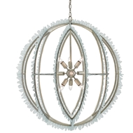 Currey & Company Lighting Saltwater Orb Chandelier