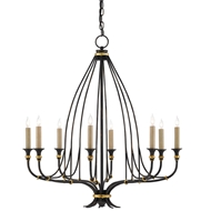 Currey & Company Lighting Folgate Chandelier Small