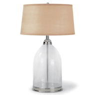 Regina Andrew Lighting Glass Dome Table Lamp (Polished Nickel)