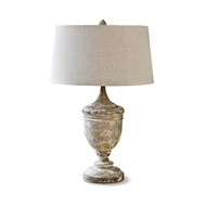 Regina Andrew Lighting Gesso Vase Table Lamp