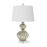 Regina Andrew Lighting Ripple Table Lamp - Antique Mercury