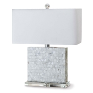 Regina Andrew Lighting Bliss Mother of Pearl Table Lamp