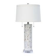 Regina Andrew Lighting Deva Mother of Pearl Table Lamp