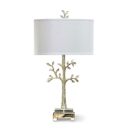 Regina Andrew Lighting Modern Tree Table Lamp - Silver