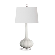 Regina Andrew Lighting Milano Table Lamp - Snow White