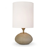 Regina Andrew Lighting Concrete Mini Orb Lamp