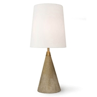 Regina Andrew Lighting Concrete Mini Cone Lamp