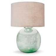 Regina Andrew Lighting Seeded Recycled Glass Table Lamp