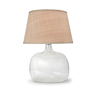Regina Andrew Lighting Seeded Oval Glass Table Lamp