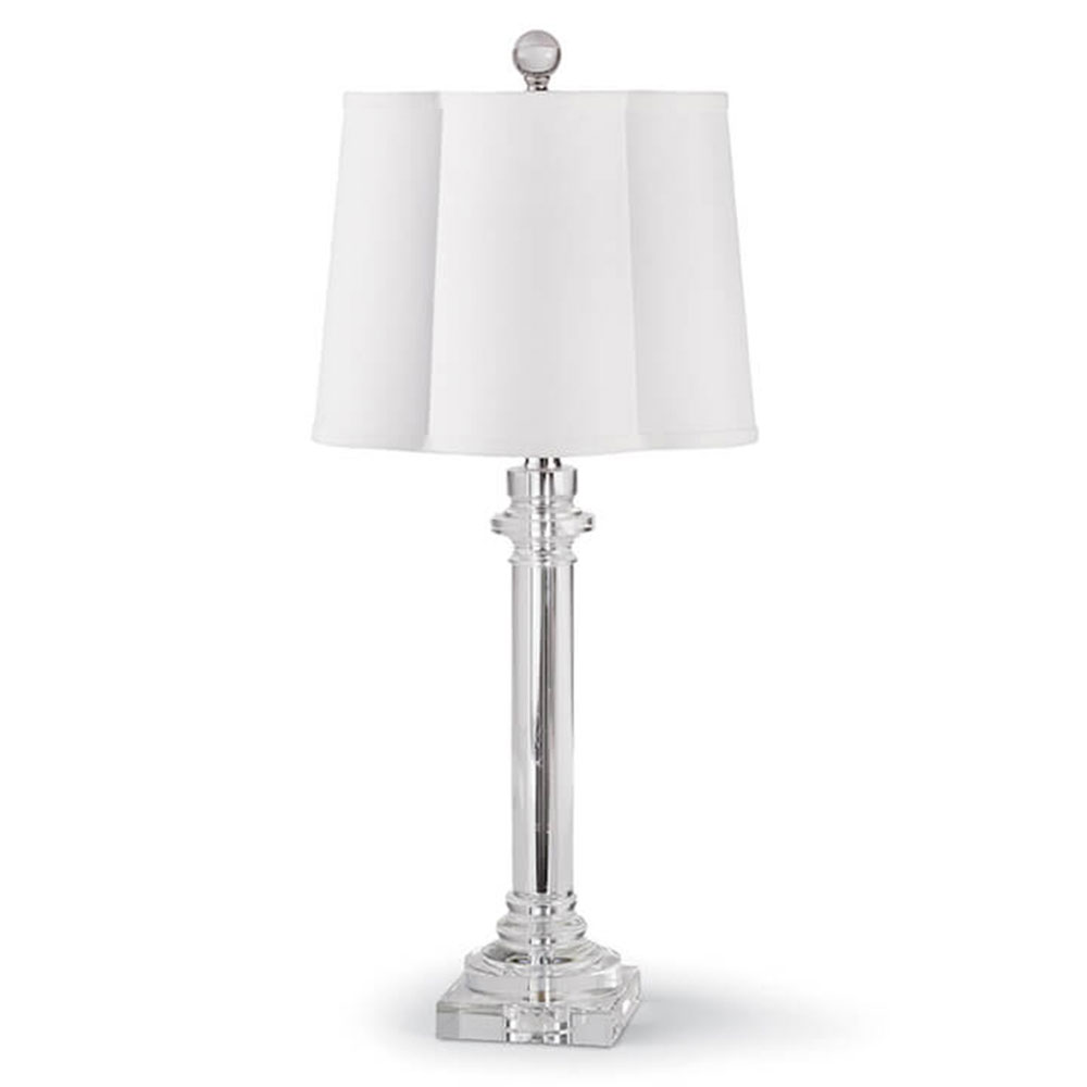 Etonnant Regina Andrew Design Lighting Scallop Crystal Buffet Table Lamp