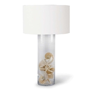 Regina Andrew Lighting Glass Cylinder Table Lamp